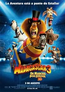 Madagascar 3: Los Fugitivos – Latino HD 1080p – Online