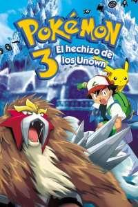 Pokémon 3: El hechizo de los Unown – Latino HD 1080p – Online