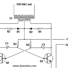 120v 24v Transformer Wiring Diagram For Gooseneck Trailer Inverter Project 12v Dc To Ac