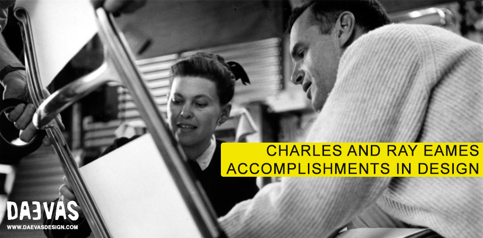 Charles And Ray Eames Accomplishments In Design image