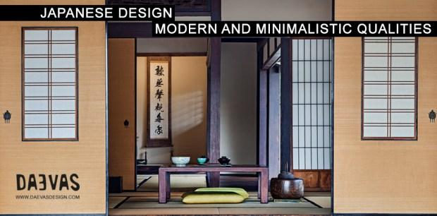 Japanese Design | Modern And Minimalistic Qualities image