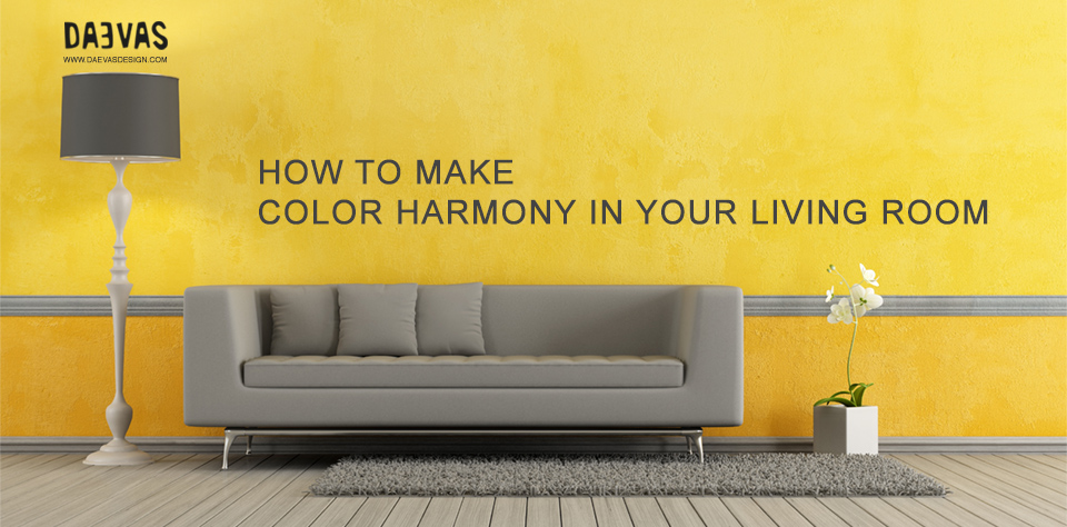 How To Make Color Harmony In Your Living Room Image