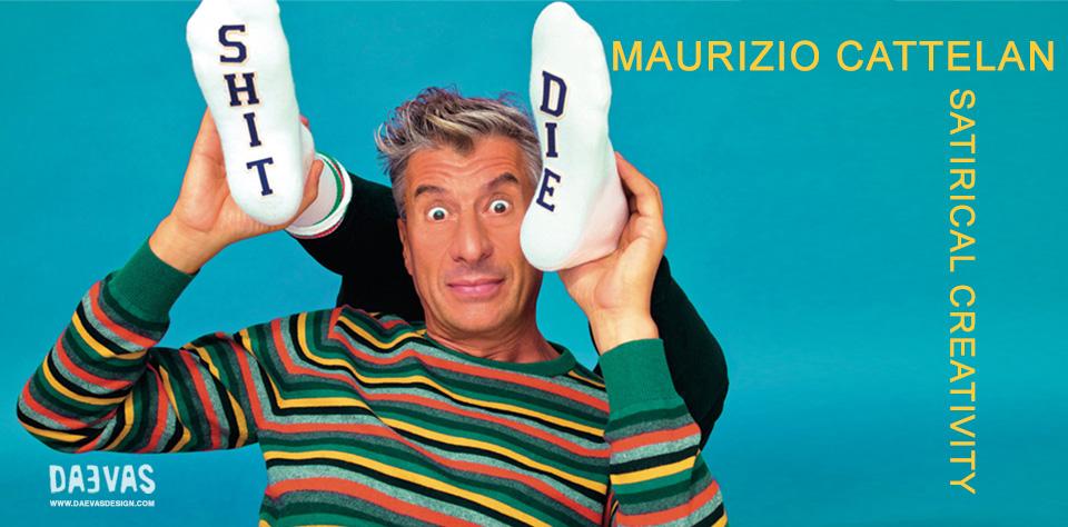 Maurizio Cattelan – Satirical Creativity Image