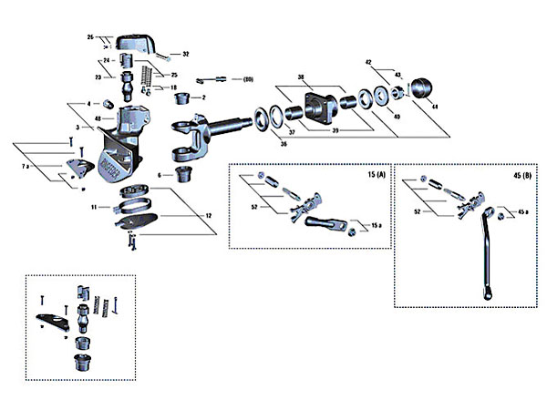 Chassis & Body Parts • Drawbar Couplings & Spare Parts