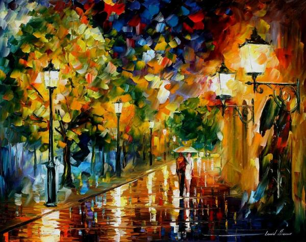 Famous Modern Oil Painting Romantic