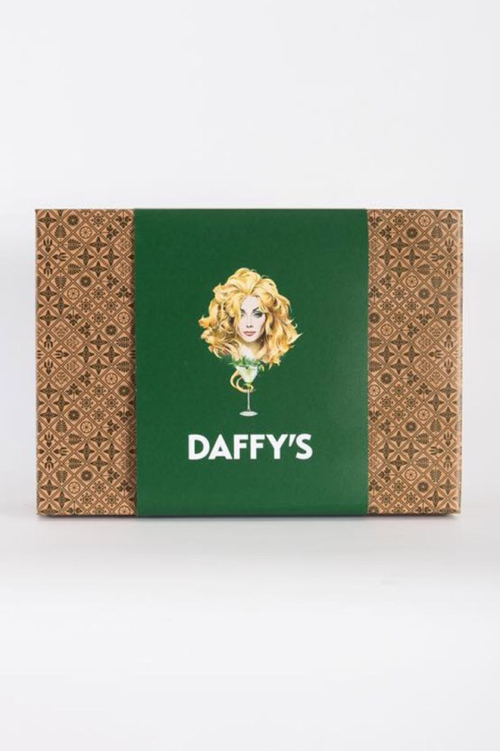 Daffy's gin gift box.
