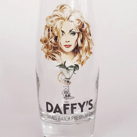 Daffy's gin hi-ball glass.
