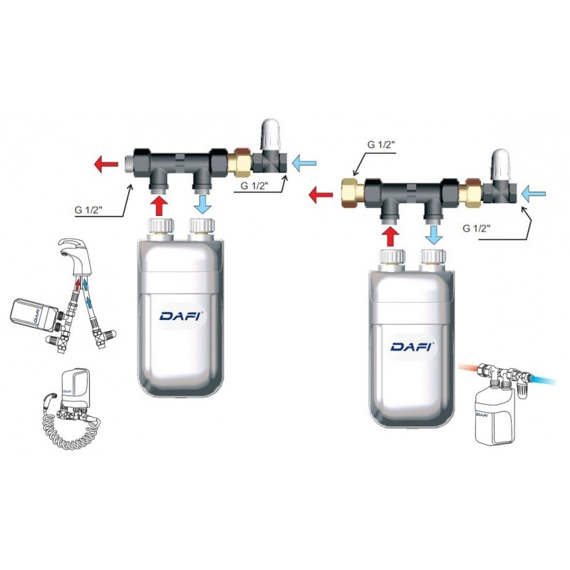 Electric Hot Water Systems Uk.Dafi Water Heater 3
