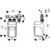 Durchlauferhitzer 11kw. clage cdx11 u durchlauferhitzer ...