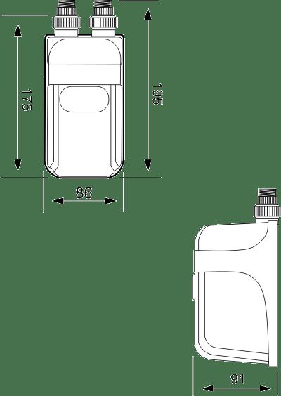 DAFI 5.5 kW 230 V (single phase) without monobloc (heating