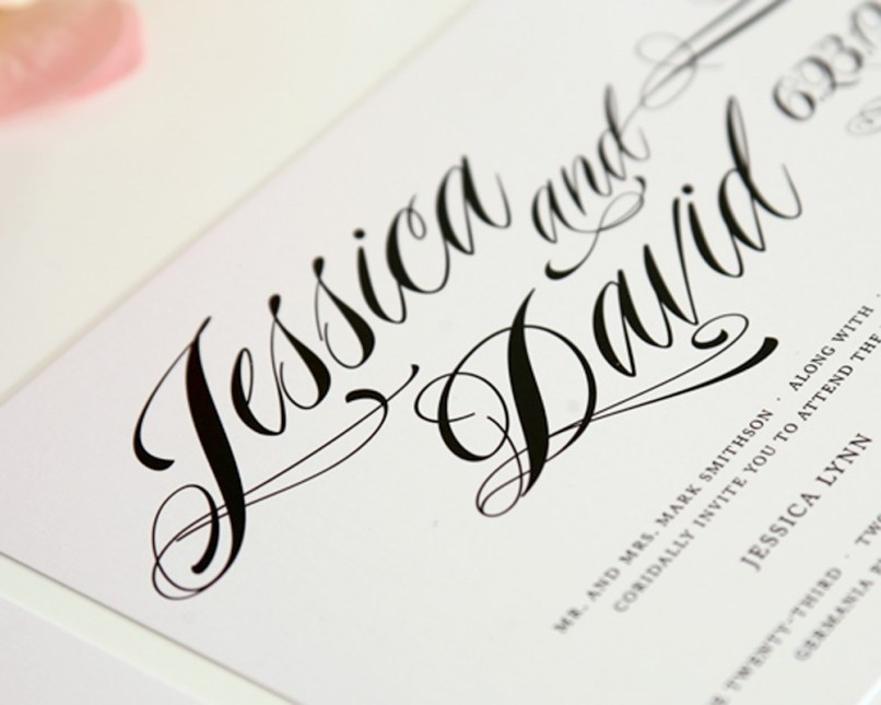 best calligraphy fonts for wedding invitations   Inviview.co