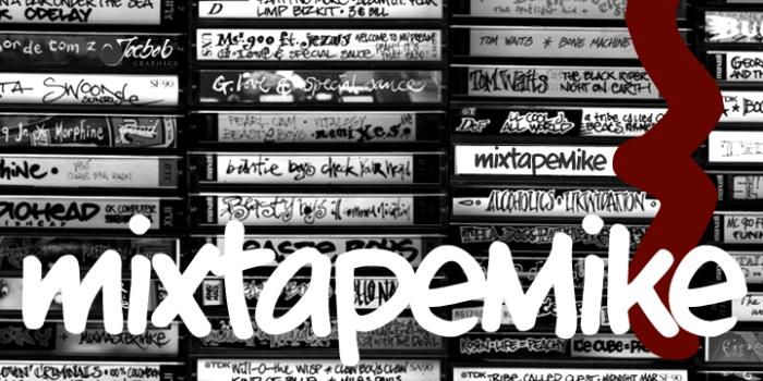MixeTape Mike typographie