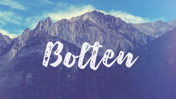 Bolten Typeface