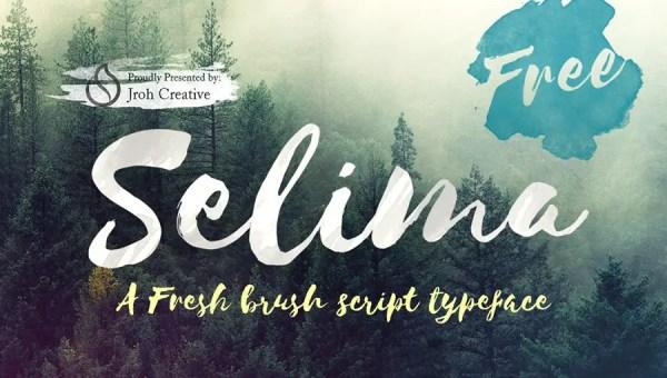 Selima Script Font