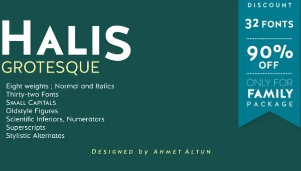 Halis Grotesque Font