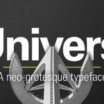 Univers Font Free