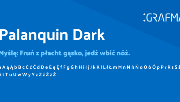 Palanquin Dark Font Free Download