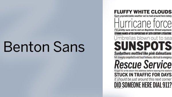 Benton Sans Font Free