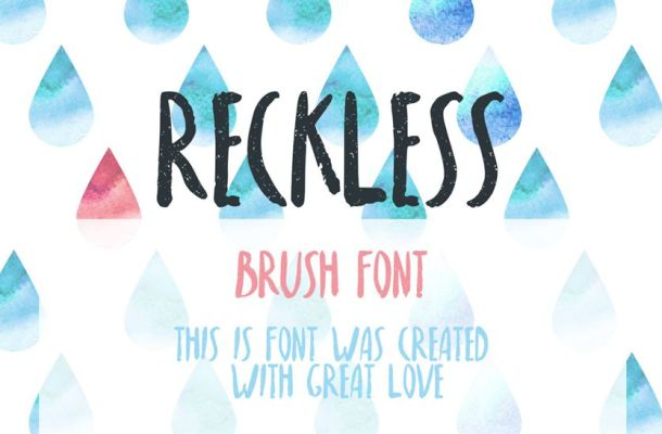 Reckless Font