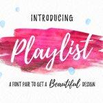 Playlist Script Font Free