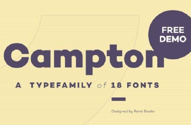 Campton Font Free