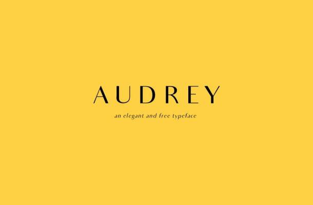 Audrey Font Free