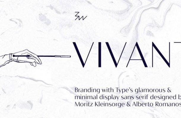 Bw Vivant Font Family Free