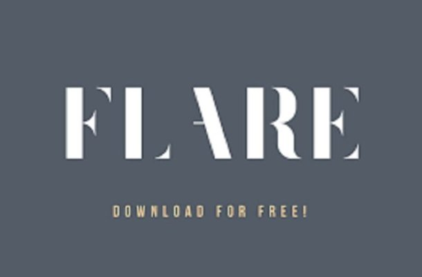 Flare Typeface Free