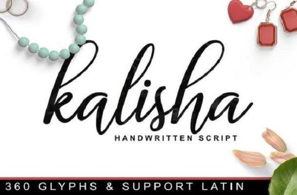 Kalisha Script Font Free