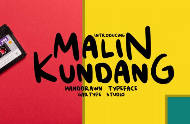Malin Kundang Script Font Free
