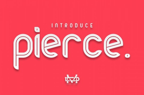 Pierce Typeface Free