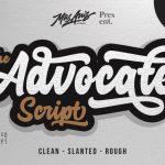 Advocate Script Font Free