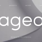 Ageo Geometric Sans Font Family Free
