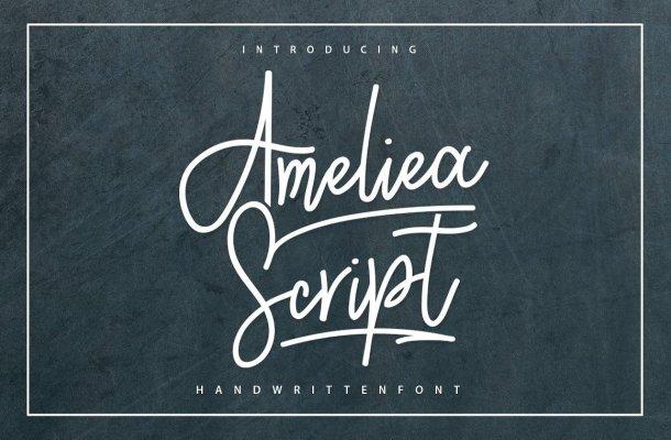 Ameliea Script Font Free