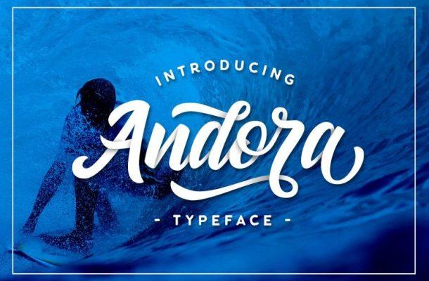 Andora Script Font Free