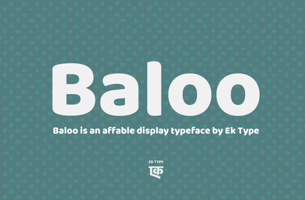Baloo Font Family Free