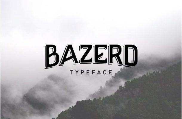 BAZERD Typeface Free