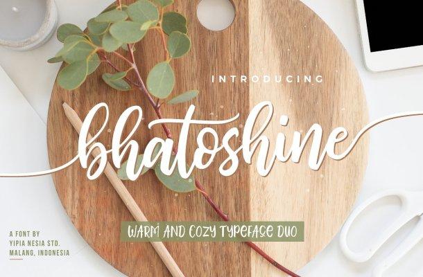 Bhatoshine Font