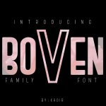 Boven Typeface Free
