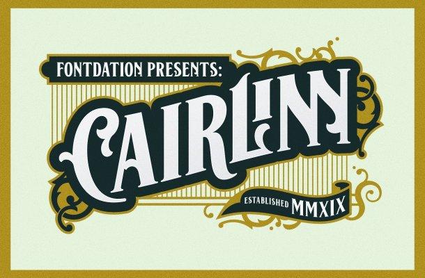 Cairlinn Vintage Font Free