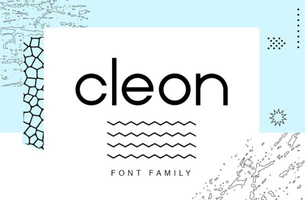 Cleon Font Family Free