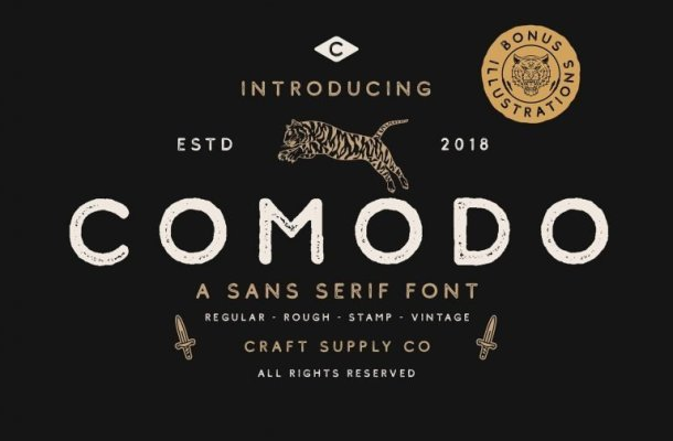 Comodo Font Family Free