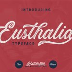 Eusthalia Script Font Free