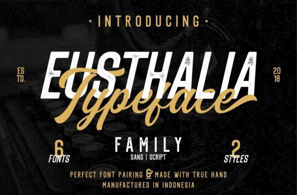 Eusthlia Font Family Free