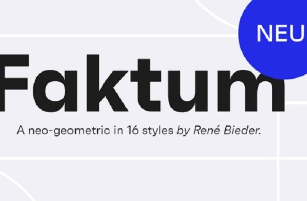 Faktum Font Family Free