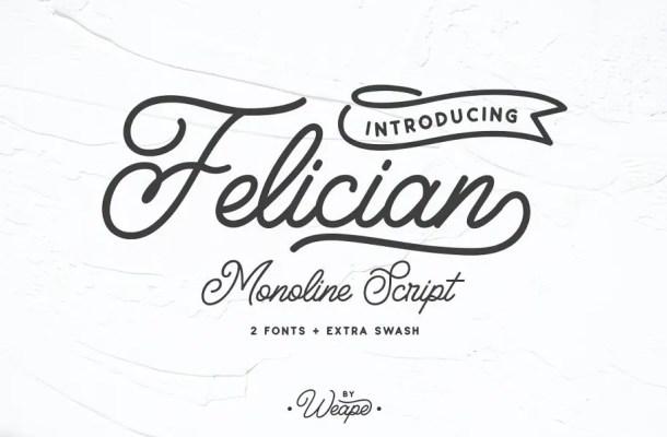 Felician Script Font Free