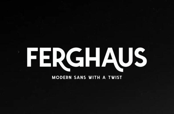 Ferghaus Sans Font Free