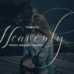 Heavenly Script Font Free