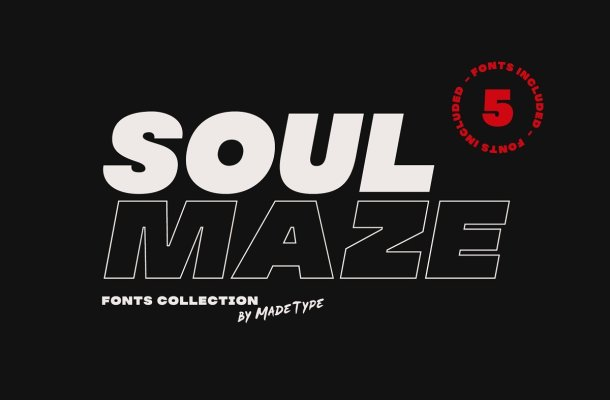 MADE Soulmaze Font Collection Free