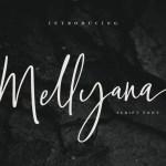 Mellyana Script Font Free